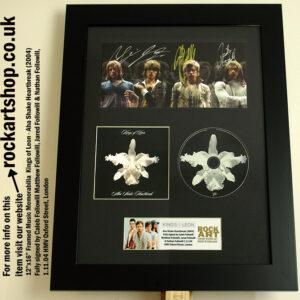 KINGS OF LEON FULLY SIGNED AHA CD 1.11.04 HMV LONDON CALEB FOLLOWILL