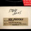 Steve Jones Autograph
