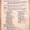 Depeche Mode 1984 Information Service Sheet