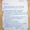 Depeche Mode 1983 Fan Club Letter