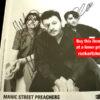 Manic Street Preachers Autographs