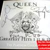 Queen Autographed CD