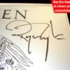 Roger Taylor Autograph
