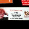 Ed Sheeran Autographed Memorabilia