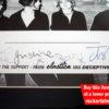 Elastica Autographs Justine Frischmann