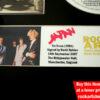 JAPAN DAVID SYLVIAN SIGNED MUSIC MEMORABILIA