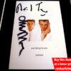 Neil Tennant & Chris Lowe Autographs