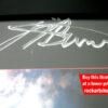JJ Burnel Autograph