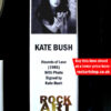 Kate Bush Signed Music Memorabilia