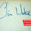 Chris White Autograph
