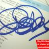 Brian Bennett Autograph