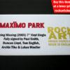 Maximo Park Signed Music Memorabilia