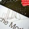 Alan Wilder Autograph