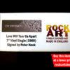 Joy Division Signed Music Memorabilia