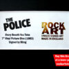 The Police Sting Signed Music Memorabilia