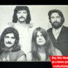 Black Sabbath Signed Photo 1970s