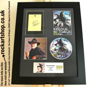 TERRY PRATCHETT SIGNED THE COLOUR OF MAGIC AUTOGRAPHED