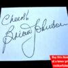 AC/DC Brian Johnson Autograph