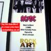 AC/DC Autographed Memorabilia