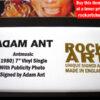 Adam Ant Music Memorabilia