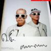 Pet Shop Boys Signed Publicity Photo
