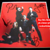 The Vaccines Autographed English Graffiti