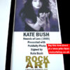 Kate Bush Signed Music Memorabilia