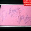 Depeche Mode Autographs