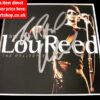 LOU REED SIGNED NYC MAN CD