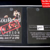 LOU REED VIP PASS TOWER RECORDS NEW YORK 9.6.03