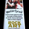 Motörhead Signed Music Memorabilia