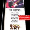 The Shadows Signed Music Memorabilia