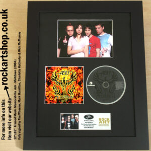 ASH FULLY SIGNED TIM WHEELER MARK RICK CHARLOTTE MELTDOWN CD