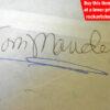 Tommy Mandel Autograph