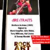 Dire Straits Autographed Music Memorabilia