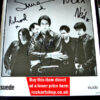 Suede Signed Nude Records Publicity Photo