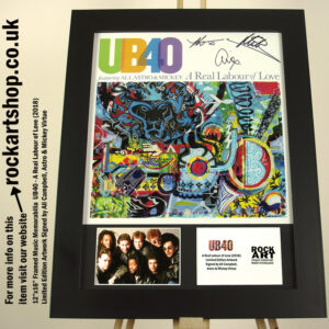UB40 A REAL LABOUR OF LOVE SIGNED ALI CAMPBELL ASTRO MICKEY VIRTUE