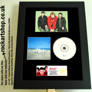 MANIC STREET PREACHERS SIGNED JAMES +NICKY +SEAN AUTOGRAPHED