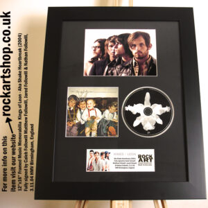 KINGS OF LEON SIGNED AHA CD 3.11.04 HMV BIRMINGHAM CALEB FOLLOWILL