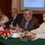 Sardar Raza Barch addressing the program