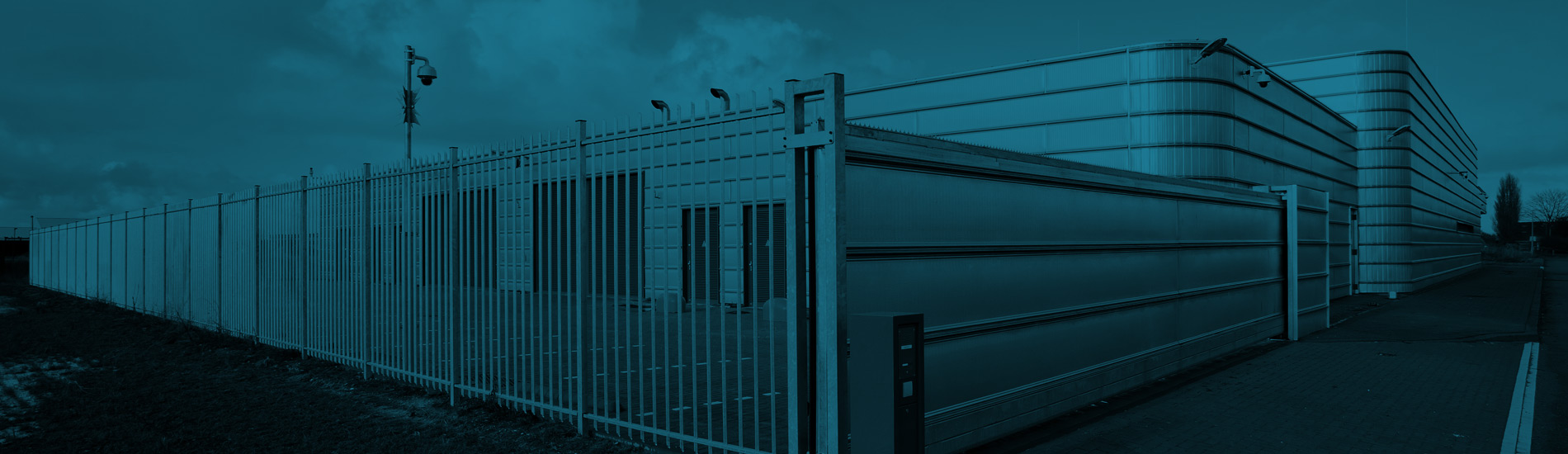 Teksec Fast Acting Bi-folding Speed Gate