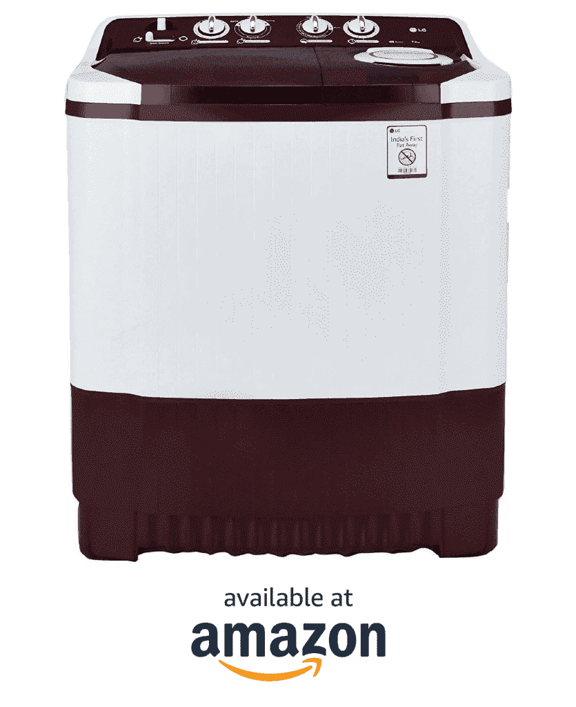 #4 Best Semi Automatic Washer Machine in India LG 7.0 kg P8053R3SA