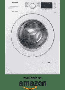 1. Samsung 6 kg WW60M206LMW/TL best front load washing machine in India