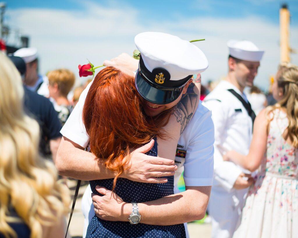 veterans, navy, deployment