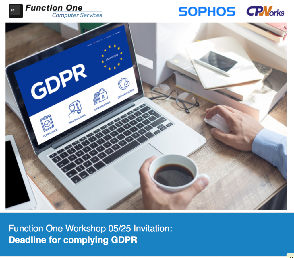 CPWorks - GDPR workshop Hong Kong