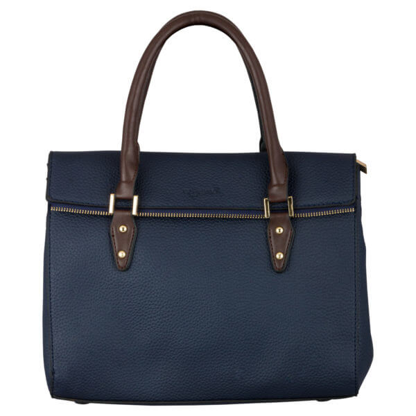 VEGAN HAND BAG (ZS)-BLUE -LIFESTYLE INTERNATIONAL LIMITED jpg