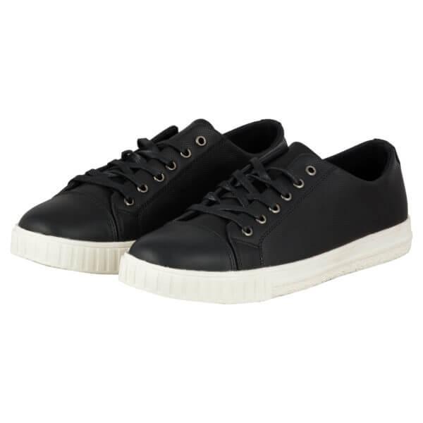 vegan shoes, vegan sneaker-Lifestyle International Limited, www.lifestyleint.co.uk , black,