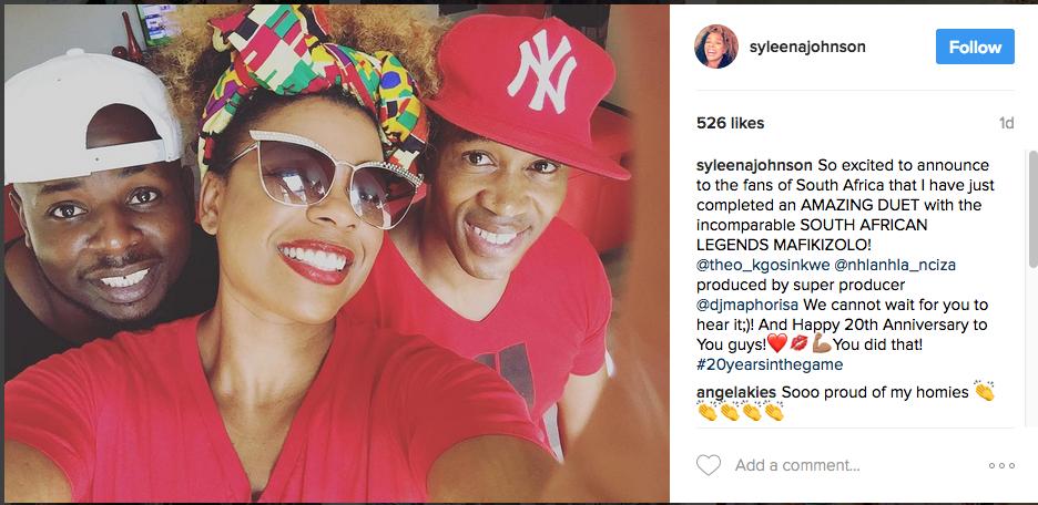 Mafikizolo Collaborates With Grammy Award Nominated R&B Singer , Syleena Johnson2