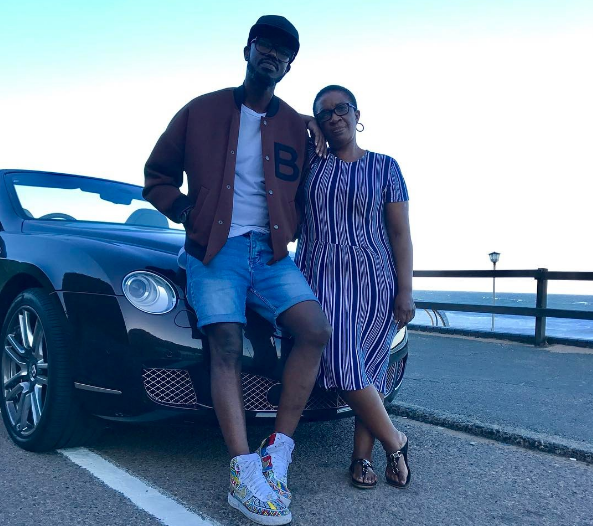 Photo of Black Coffee Takes His Mom For A Ride In His New Bentley Worth R3.7million