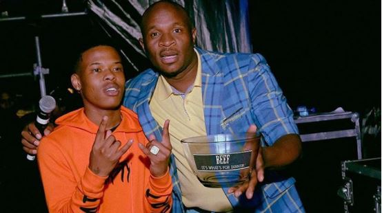 Photo of Dr Malinga And Nasty C Settle Their Beef